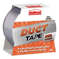 Unibond Duct Tape 50mmx10M Silver1401922 (Pack 1)