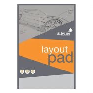 Silvine Layout Pad A4 80lvs 50gsm  (Pack 1)