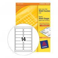 Avery FSC M/purpseLabel 105x42.3Wht 3653 (Pack 1)