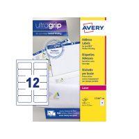 Avery FSC LaserLbl 63.5x72 Wht L7164-100 (Pack 1)