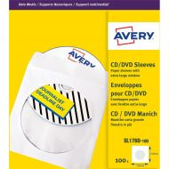 Avery Paper Sleeves CD Wht SL1760-100 (Pack 1)