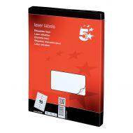 5 Star Office MultiP Lbls 99.1x34 1600Lb (Pack 1)