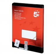 5 Star Office MultiP Lbls 99.1x67.7 800 (Pack 1)