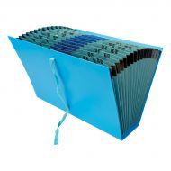 5 Star Office Fantail File Fcap Blue (Pack 1)