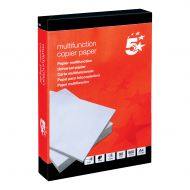 5 Star Office 80gsm A4 Paper Pk500 (Pack 5)