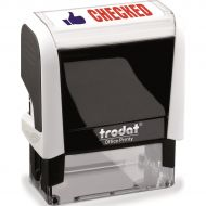 Trodat Office Printy Stamp CHECKED 77254 (Pack 1)