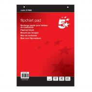 5 Star Flip Pad A1 40Shts 60gm WMT 44001 (Pack 1)