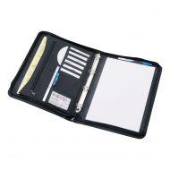 5 Star Office RBndr Folder Zipped A4 Blk (Pack 1)
