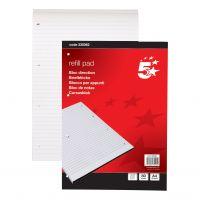 5 Star Refill Pad Fnt Rld 80Shts (Pack 10)