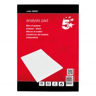 5 Star Analysis Pad A4 8 Col 330291 (Pack 1)