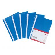 5 Star Office Project File A4 Blue (Pack 5)