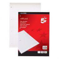 5 Star RefllPad FntRld&Mrgn80Shts (Pack 10)