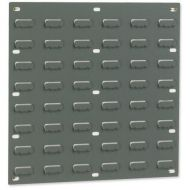 Louvred Panel 457x438mm GreyPk2 010101/2 (Pack 1)