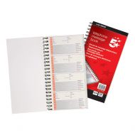 5 Star Telephone Message Book Ncr 320 (Pack 1)