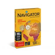 Navigator FSC Col Doc A4 120gsm Pk250 (Pack 1)