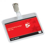 5 Star Self Laminating Badge 54x90mmPk25 (Pack 1)