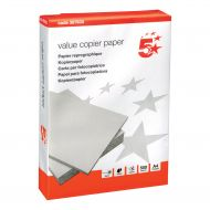 5 Star Value A4 Paper Pk500 (Pack 1)
