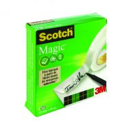 3M Scotch Magic Tape 12mmx66m Pk2