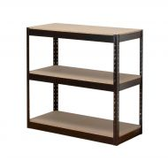 &FInfluxHD Bltls 3 Shelf Frm Unit Blk (Pack 1)