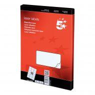 5 Star Office MultiP Lbls 63.5x46.6 1800 (Pack 1)