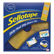 Sellotape Hooks 25mmx12m Strip 1445179 (Pack 1)