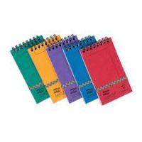 Headbound Elastic Notebooks 76x 127 Ass PK20