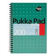 Pukka Pad A5 W/Bound N/Book 200pg JM021 (Pack 3)