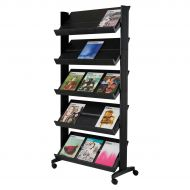&Literature Display Mobile 5 Shelves (Pack 1)