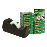 Scotch Magic 19x33 12rls& Free Disp SM12 (Pack 1)
