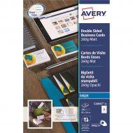 Avery Business Cards Inkjet C32015-25 (Pack 1)