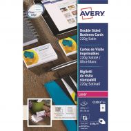 Avery Bus Cards Colour Laser C32016-25 (Pack 1)