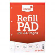 Silvine Rfll Pad Perfted Pg A4RPFM (Pack 6)