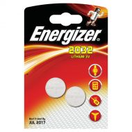 Energizer Lith Battery CR2032 Pk2 628747 (Pack 1)