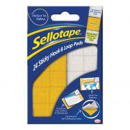 Sellotape Hk&Loop Pds 20x20 Bx24 1445176 (Pack 1)