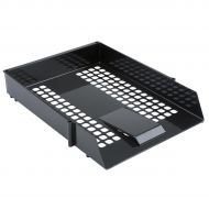 5 Star Value Letter Tray Black  (Pack 1)