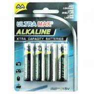 5 Star Value Alkaline Batteries AA Pk 4 (Pack 1)