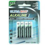5 Star Value Alkaline Batteries AAA Pk 4 (Pack 1)