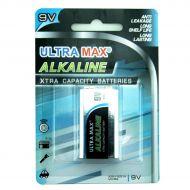 5 Star Value Alkaline Battery 9V Pk1 (Pack 1)