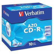 Verbatim CD-R Jewel Case Pk10 43327 (Pack 1)