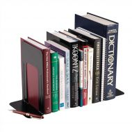 5 Star Large Bookends Metal Blk Pk2 (Pack 1)