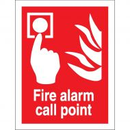 Fire Alarm Call Point 150X200mm FF073SAV (Pack 1)