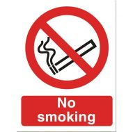 No Smoking 150x200mm P089SAV (Pack 1)
