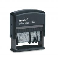 Trodat 4817 Dial-a-Phrase Dater 80361 (Pack 1)