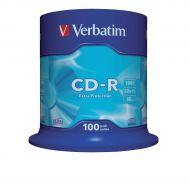 Verbatim CD-R Spindle Pk100 43411 (Pack 1)