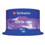Verbatim DVD PlusR 16xSpindle Pk50 43550 (Pack 1)