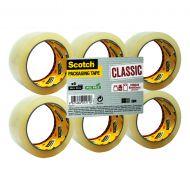 3M Scotch Clsc  P/Tape Clr Pk6 CL5066F6T (Pack 1)