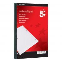 5 Star JumboPad A4Fnt/Mrgn200Sht (Pack 4)