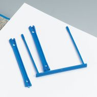 5 Star E-Clip Polypropylene Blue Pk10 (Pack 1)
