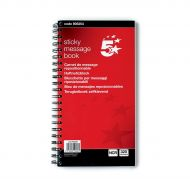 5 Star Sticky Message Books 80 Page (Pack 1)