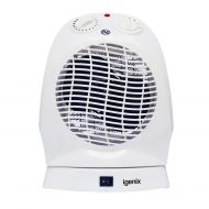 Igenix 2kW Upright Oscillating FanHeater (Pack 1)